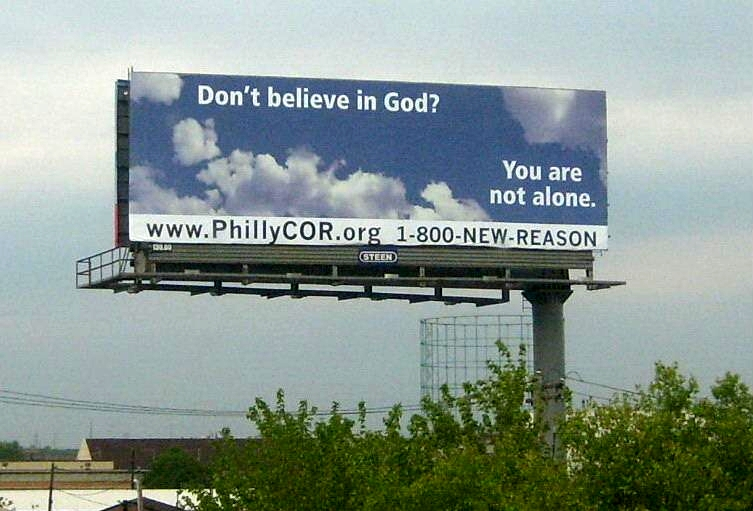 Philly Freethought Billboard