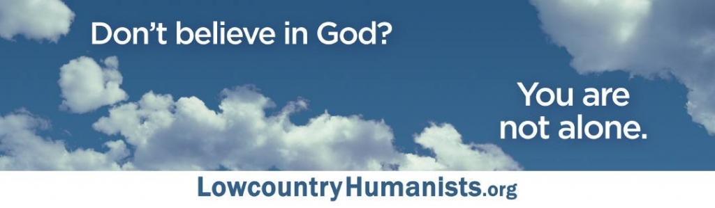 Secular Humanists of the Lowcountry Billboard